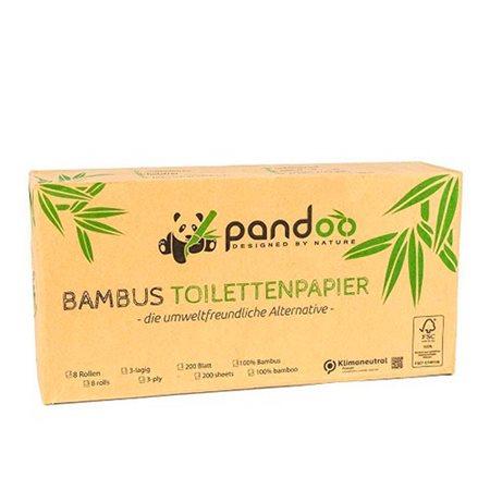 3-lags Bambus Toiletpapir