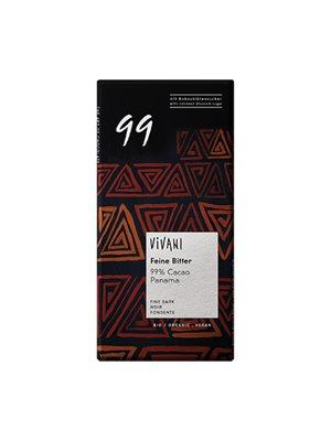 99% mørk chokolade Vivani