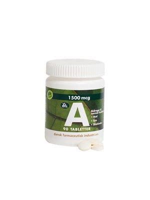 A-vitamin 1500 mcg, 5000 ie