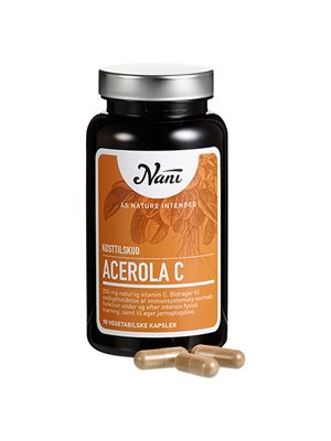 Acerola C-vitamin Nani