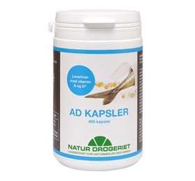 AD Kapsler levertran m. A  og D-vitamin