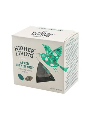 After Dinner mint te Ø  Higher Living