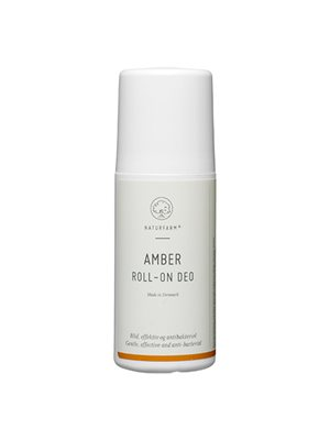 Amber roll-on deo