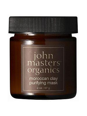Ansigtsmaske Moroccan Clay  Purifying John Masters Fedtet og kombineret hud