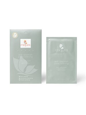 Anti Blemish Sheet Pore  Refining Face Mask Coconut