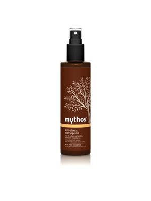 Anti-stress Massage oil  Olive + essential oils Mythos