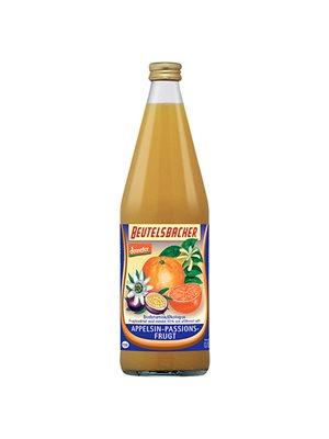 Appelsin-Passionsfrugtsaft Ø Demeter