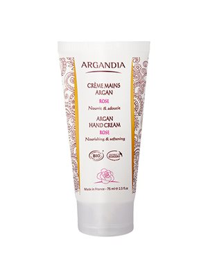 Argan hand cream Rose