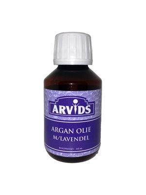 Argan olie m. lavendel Arvids