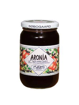 Aronia marmelade Ø sødet m æble