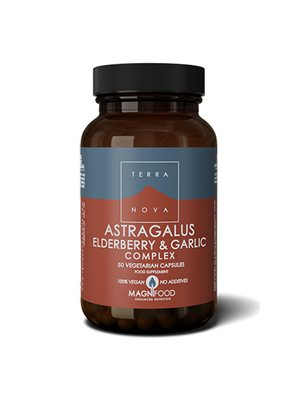 Astragalus elderberry & garlic complex