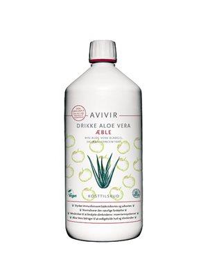 AVIVIR Aloe Vera Drikke Ø Æble