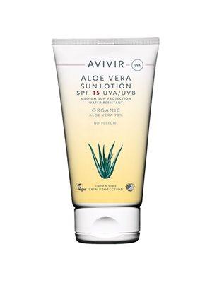 AVIVIR Aloe Vera Sun Lotion  SPF 15 70%