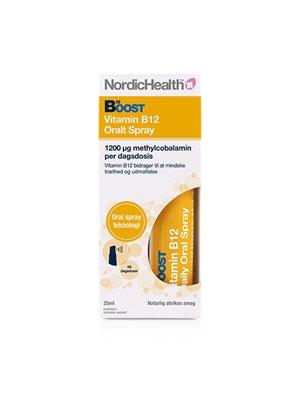 B12 vitamin spray 300 mcg NordicHealth