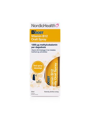 B12 vitamin spray 300 mcg NordicHealth
