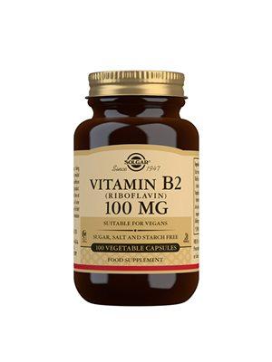 B2 vitamin 100 mg Riboflavin