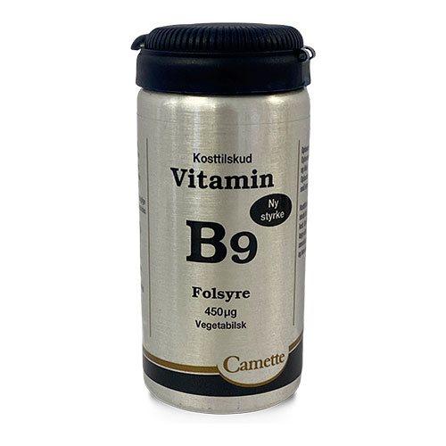 Camette B9 Vitamin Folsyre 450MCG