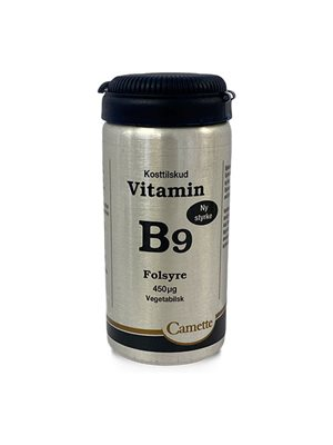 B9 vitamin folsyre  450mcg