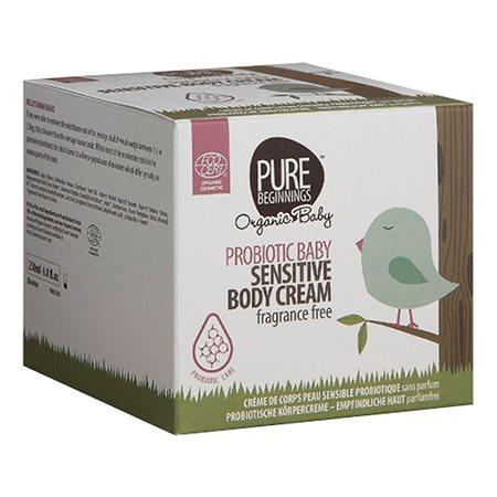 Baby sensitive body cream fragrance free Pure Beginnings