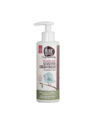 Baby sensitive cream wash fragrance free Pure Beginnings