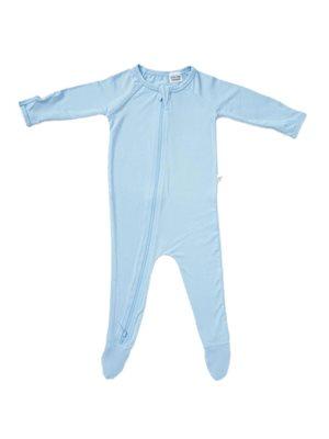 Baby sparkedragt blå 0-3 mdr