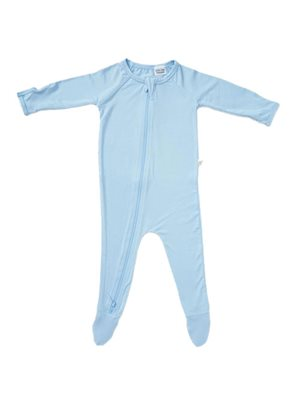 Baby sparkedragt blå nyfødt