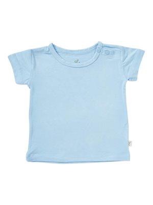 Baby T-shirt blå 6-12 mdr