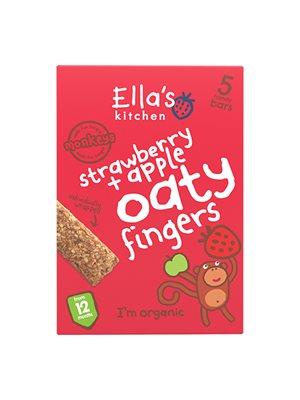 Babykiks jordbær & æble Ø 12 mdr Ellas Kitchen