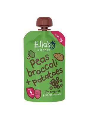 Babymos ærter, broccoli &  kartofler 4 mdr Ø