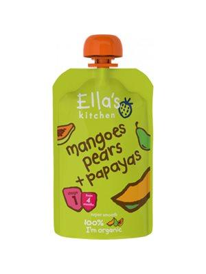Babymos mango, pære, & papayaØ 4 mdr Ellas Kitchen