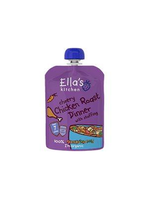 Babymos Ø kylling&grøntsager  7 mdr Ellas Kitchen