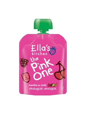 Babysmoothie The Pink One 6 mdr Ø Ellas Kitchen