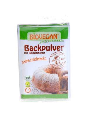 Bagepulver med vinsten økologisk og glutenfri 4*17g