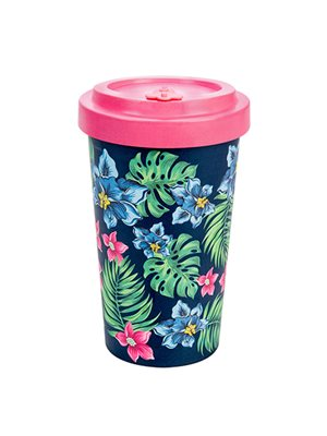 Bambus Cup to go tropisk 500ml