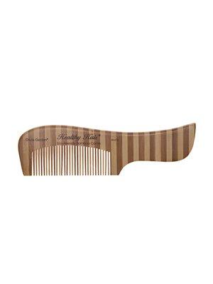 Bambus kam 2 tætsiddende  tænder og skaft