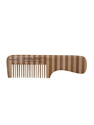 Bambus kam 3 stor mellemrum mellem tænderne og skaft