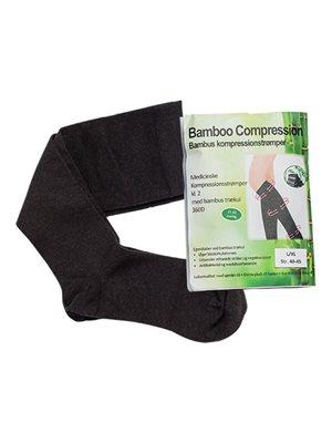 Bambus kompressionsstrømper (RAL)  2 stk. kl. 2 Str. L/XL Bamboo Pro