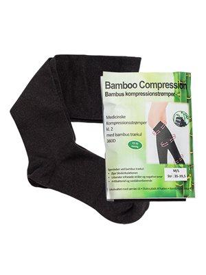 Bambus kompressionsstrømper (RAL) 2 stk. kl. 2 Str. M/L Bamboo Pro