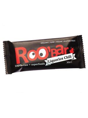 Bar m.lakrids & chilli Ø Raw Roobar