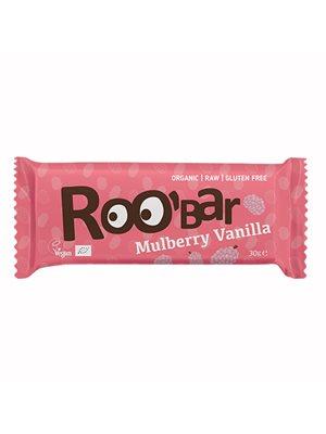 Bar m. morbær & vanilje Ø Raw Roobar