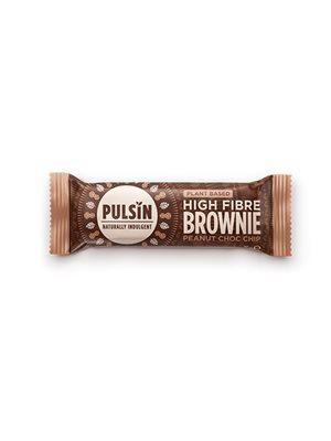 Bar med Peanut Choc chip raw choc brownie Pulsin
