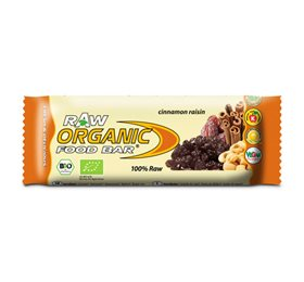 Bar organic food cinamon Ø raisin