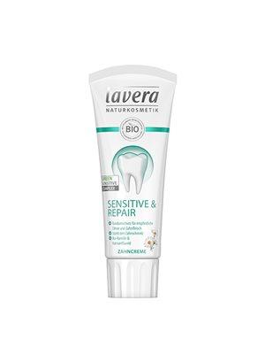 Basis Tandpasta SENSITIVE  m. flour Lavera