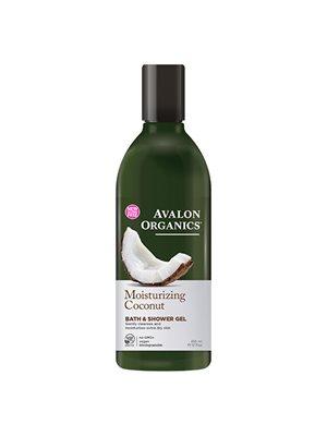 Bath & Shower Gel Coconut  Moisturizing Avalon Organics