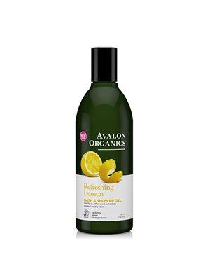 Bath & Showergel Lemon Refreshing Avalon Organics