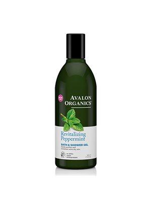 Bath & Showergel Peppermint Revitlizing Avalon Organics