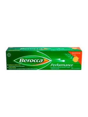 Berocca Performance 15 m. appelsin smag