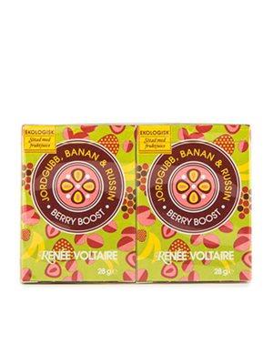 Berry Boost 2 pack (2x28g) Ø med Jordbær, Banan og Rosiner
