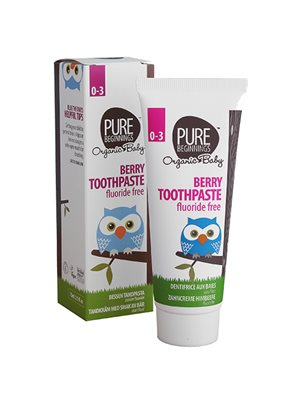 Berry toothpaste 0-3 år Pure Beginnings
