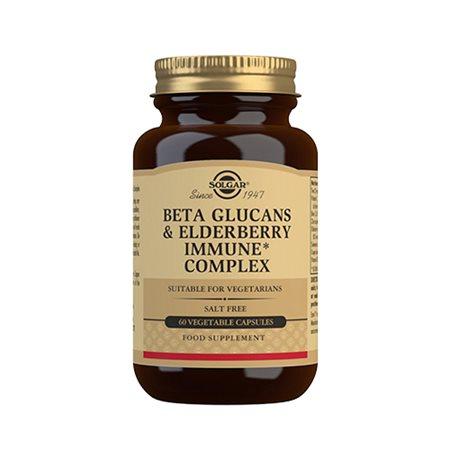 Beta Glucans and Elderberry Immune Complex